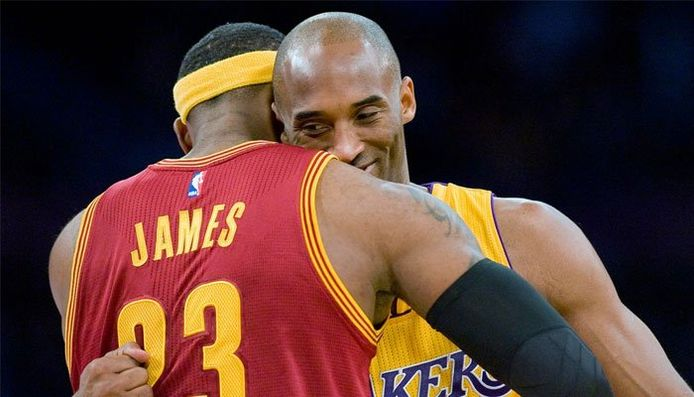 LeBron James vouait une réelle admiration pour Kobe Bryant. Les deux plus grandes stars de la NBA durant de nombreuses saisons avaient noué une vraie relation d'amitié, malgré leur rivalité.