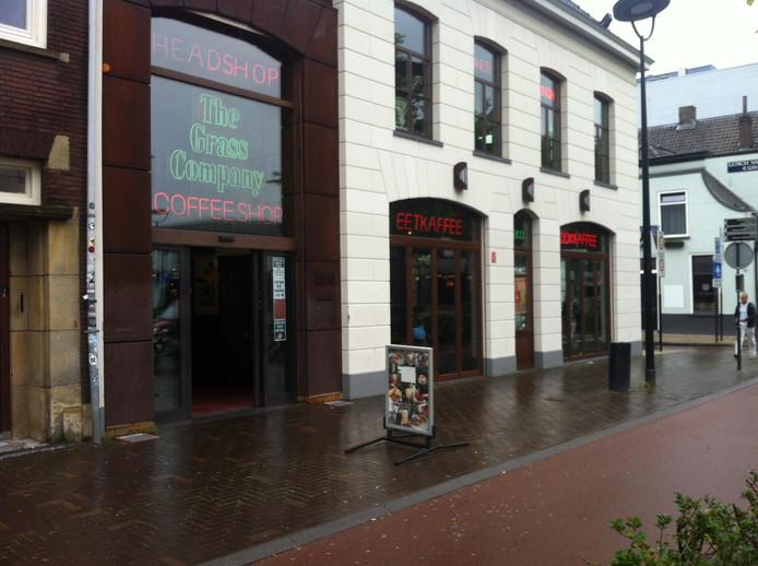 Coffeeshop Grass Company aan de Spoorlaan.