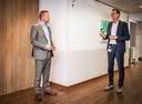 Paul van Gennip (links) en Marcel van der Priem.