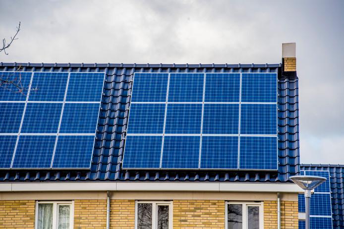 Als het aan GroenLinks in Breda ligt, tellen zonnepanelen niet mee bij het bepalen van de woz-waarde van een huis.