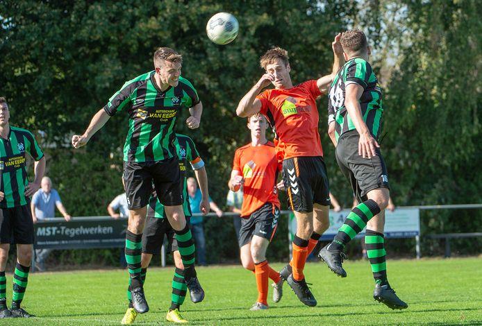 Archiefbeeld: VV Excellent Oploo - Hapse Boys