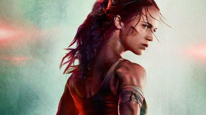 Trailer voor nieuwe Tomb Raider is er, maar het is iets vreemds op filmposters dat met aandacht gaat lopen