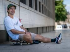 Skateboarder Douwe Macaré kon dankzij lockdown naar tofste plekjes op straat: 'Drukste plein was helemaal leeg'