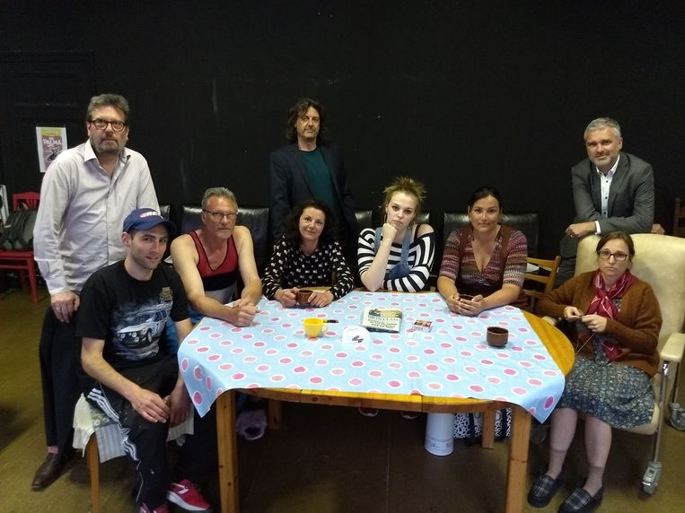 Teater Studio James Ensor is te gast in De Grote Post.