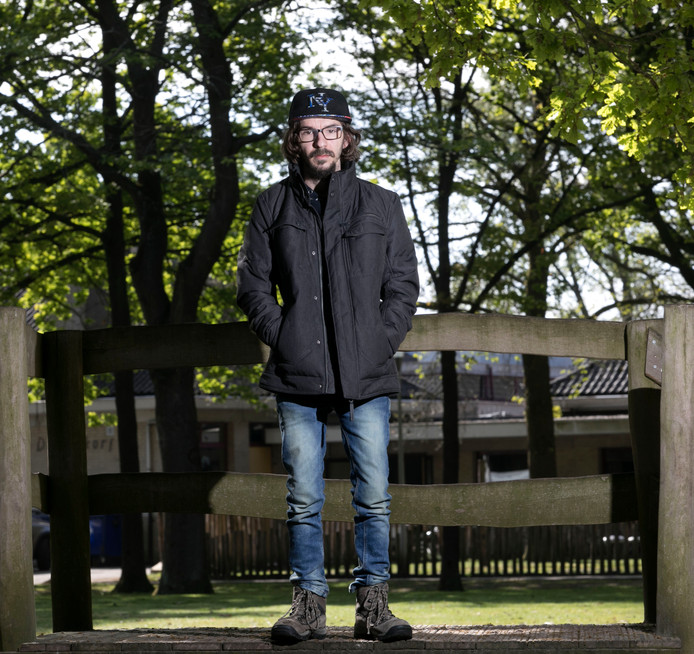Stijn van den Boogaard organiseerde het eerste O'ROckfestival.