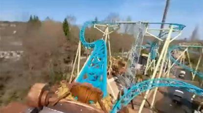 Proef van ritje in nieuwe achtbaan Walibi dankzij deze video