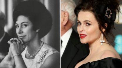 """Helena Bonham Carter vroeg hulp helderziende voor 'The Crown': """"Prinses Margaret was blij dat ik het was"""""""