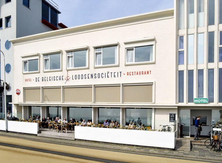 Belgische Loodsensociëteit, een hotel in Vlissingen. Beeld