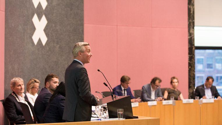 Wethouder Eric van der Burg (erfpacht). Beeld Maarten Brante