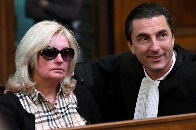 Slachtoffer Marina Tijssen en haar advocaat Kris Luyckx