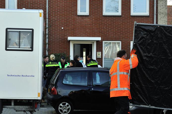 In het huis aan de Landmanweg in Etten-Leur vond in maart 2015 een gezinsdrama plaats.