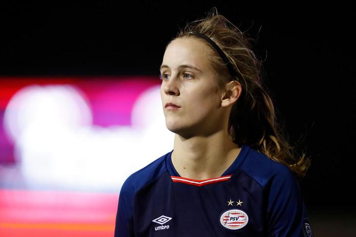 Katja Snoeijs was een van de doelpuntenmaaksters