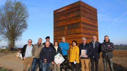 Maarten Vangramberen ambassadeur van kunstwerken bloesemroute