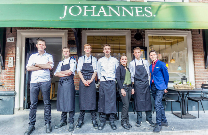 Het team van restaurant Johannes.