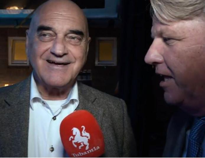 Gerard van Hal met verslaggever Gerben Kuitert
