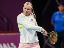 Bertens strandt in kwartfinale Doha