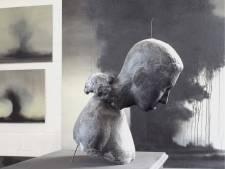 Belgische kunstenaar Dominiq VD wall exposeert in Schijndel