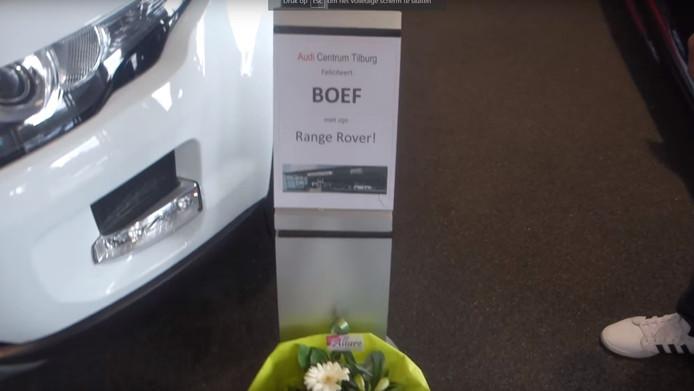 De nieuwe auto van Boef?