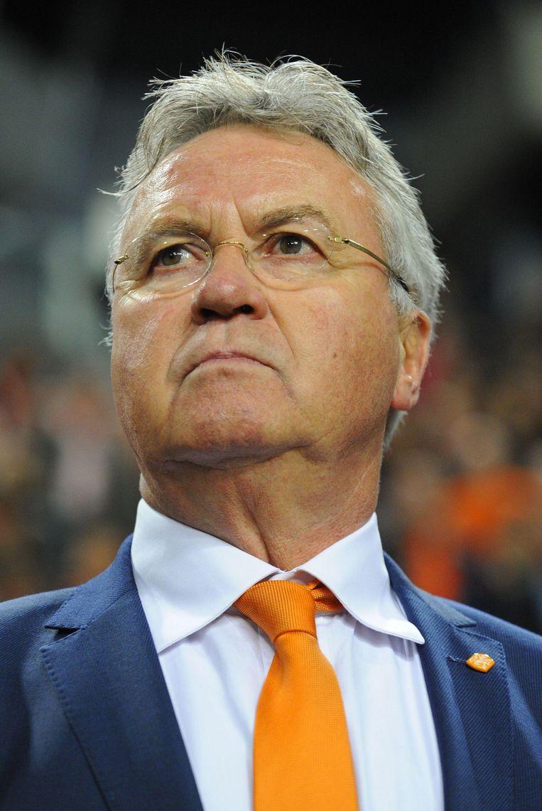Guus Hiddink Beeld afp