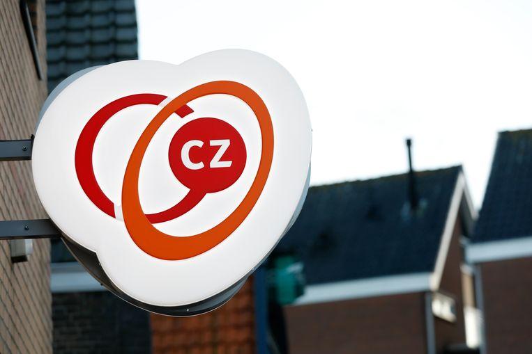 Het logo van CZ. Beeld ANP