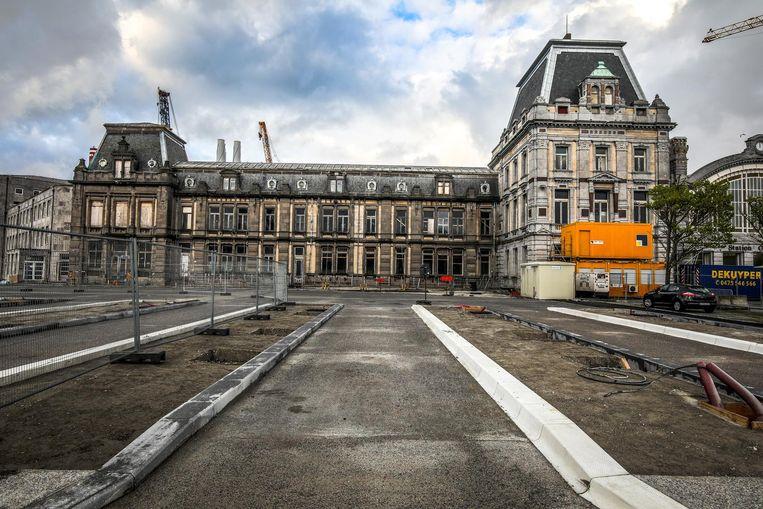 Toerisme Oostende verhuist naar de linkervleugel van het station, Hotel Terminus.