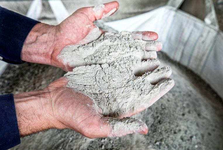 Cementproductie is wereldwijd verantwoordelijk voor zo'n 5procent van CO2-uitstoot. Beeld Raymond Rutting