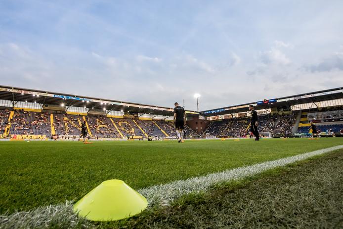 Het is in het Rat Verlegh Stadion een zoete inval van testspelers.