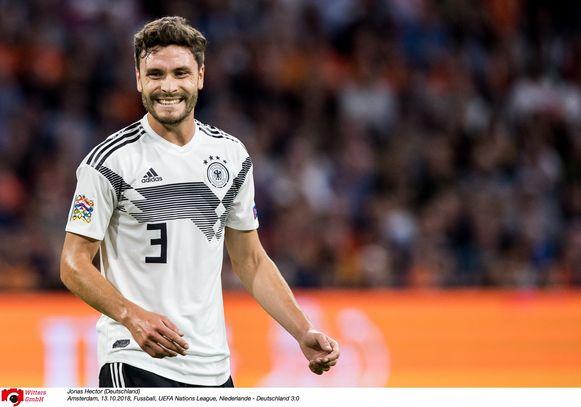 Duits international Jonas Hector bleef FC Keulen trouw na de degradatie in 2018.