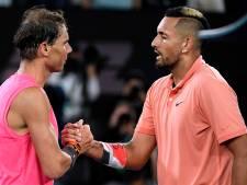 Rafael Nadal vient à bout de Nick Kyrgios au terme d'un gros combat