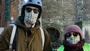 FOTOREEKS: Mensen en hun mondmasker