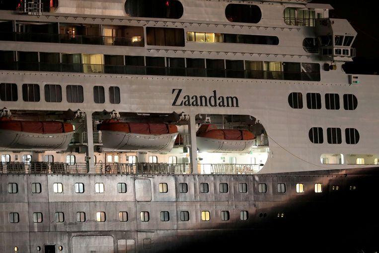 Trump over de Zaandam: 'Ik ga doen wat goed is voor de mensheid.' Beeld REUTERS