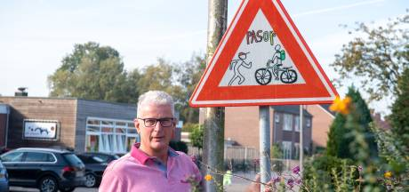 Veilig oversteken kan weer bij basisschool Heidepark Lemelerveld