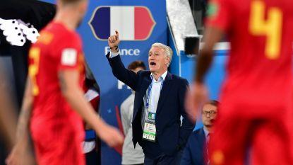"""Franse bondscoach Deschamps deelt in WK-terugblik prik uit aan Rode Duivels: """"Als het voetbal nu al dient om tierlantijntjes te laten zien"""""""