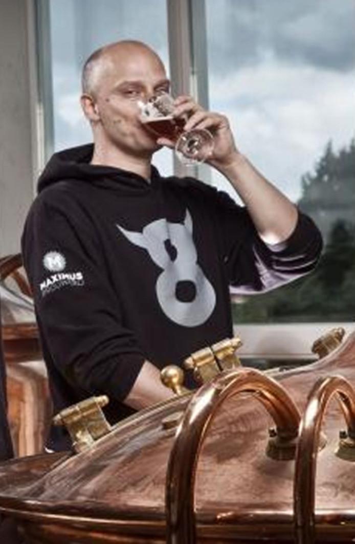 Ewald Visser van brouwerij Maximus.