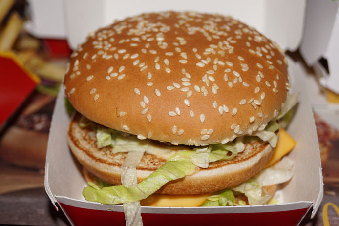 De Big Mac is het 'paradepaardje' van McDonald's.