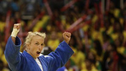 Charline Van Snick verovert gouden medaille in GP Den Haag