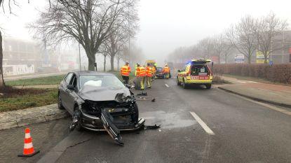 Drie gewonden bij botsing op Prins Boudewijnlaan