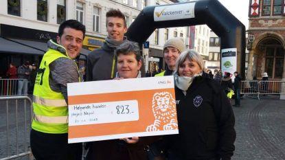 Atletiekclub Eendracht Aalst schenkt 823 euro aan SAI voor projecten in Nepal