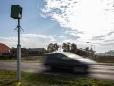 Nieuwe flitspalen op N320 bij Culemborg gaan aan