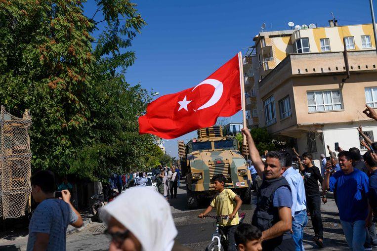 Turkije startte gisteren met een groot offensief in het noorden van Syrië.