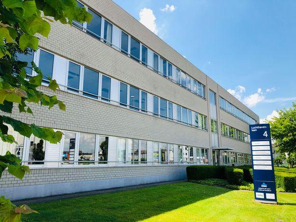De politierechtbank aan de Luchthavenlaan.