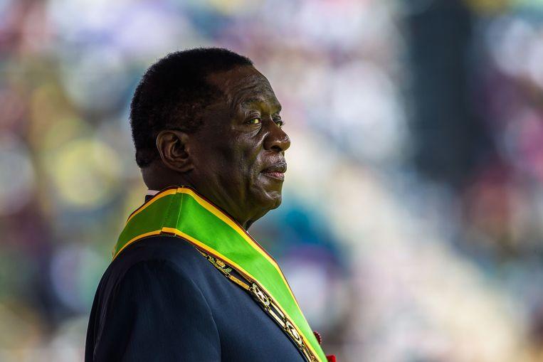 De nieuwe president van Zimbabwe Emmerson Mnangagwa werd vorige week benoemd.