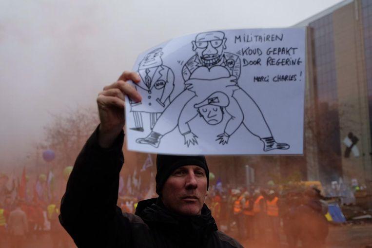 De regering-Michel krijgt het hard te verduren.