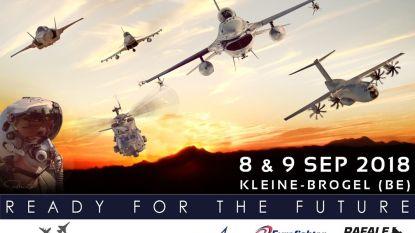 Airshow Belgisch leger gesponsord door... kandidaat-opvolgers F-16
