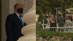 Trump krijgt boegeroep bij laatste groet aan overleden opperrechter