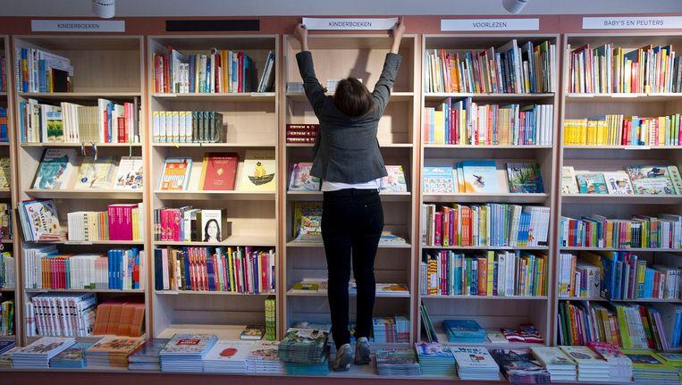 Ook boekhandel Scheltema op het Rokin doet mee Beeld anp