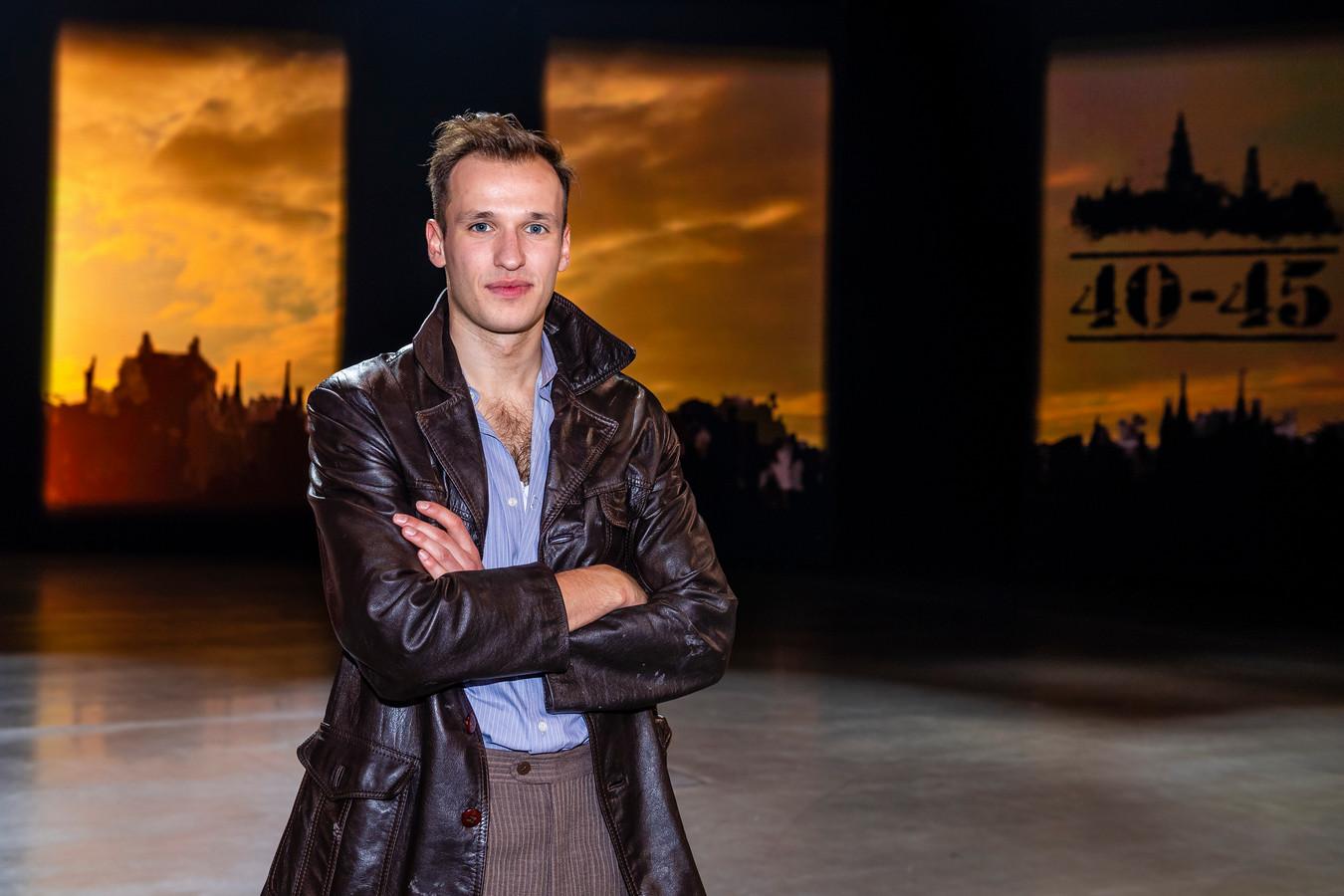 Michiel De Meyer speelt mee in de musical '40-45'.