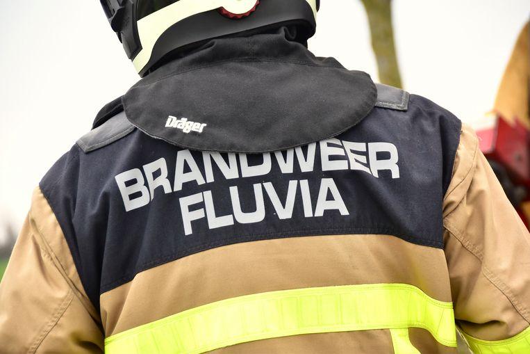 De brandweer van de zone Fluvia was de autobrand snel meester.