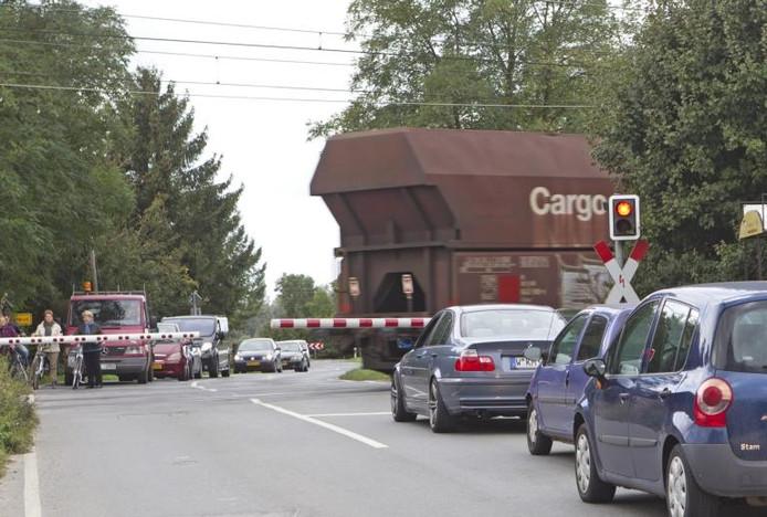 De spoorwegovergang bij de Lobither Strasse in Elten. Foto: Henk Rodrigo