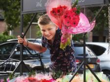 Jurre is 9 jaar en heeft nu al zijn eigen bloemenhandel